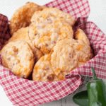 These cheesy almond flour low carb biscuits are the real deal. The last biscuit recipe you will ever need!