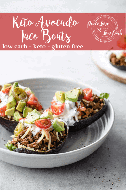 These Keto Avocado Taco Boats are the perfect way to level up your low carb Taco Tuesday Routine. They are fresh, light, and fun!