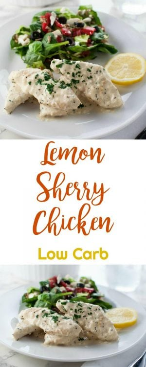 Lemon Sherry Chicken | Peace Love and Low Carb