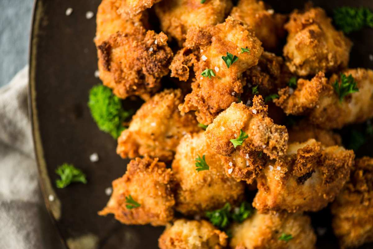 Almond Parmesan Crusted Keto Chicken Nuggets | Peace Love and Low Carb