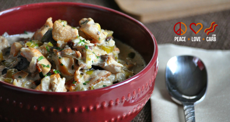 Chicken Bacon Crock Pot Chowder
