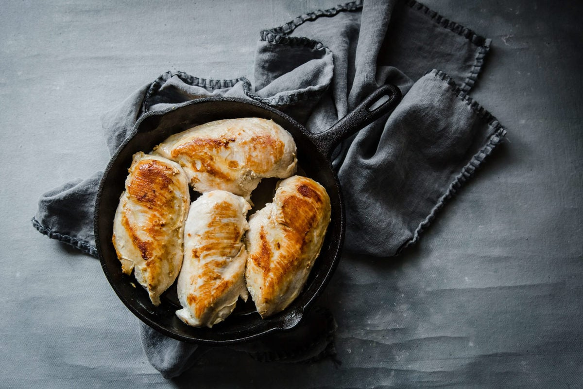 Cheesy Sour Cream Smothered Chicken | Peace Love and Low Carb