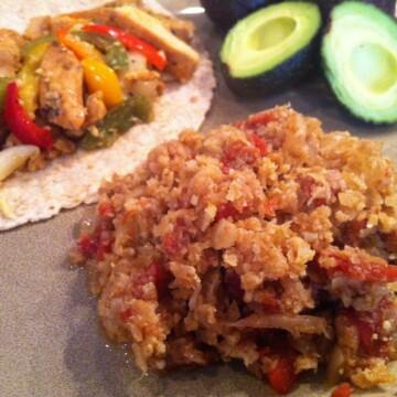 Mexican (Spanish) Cauli Rice