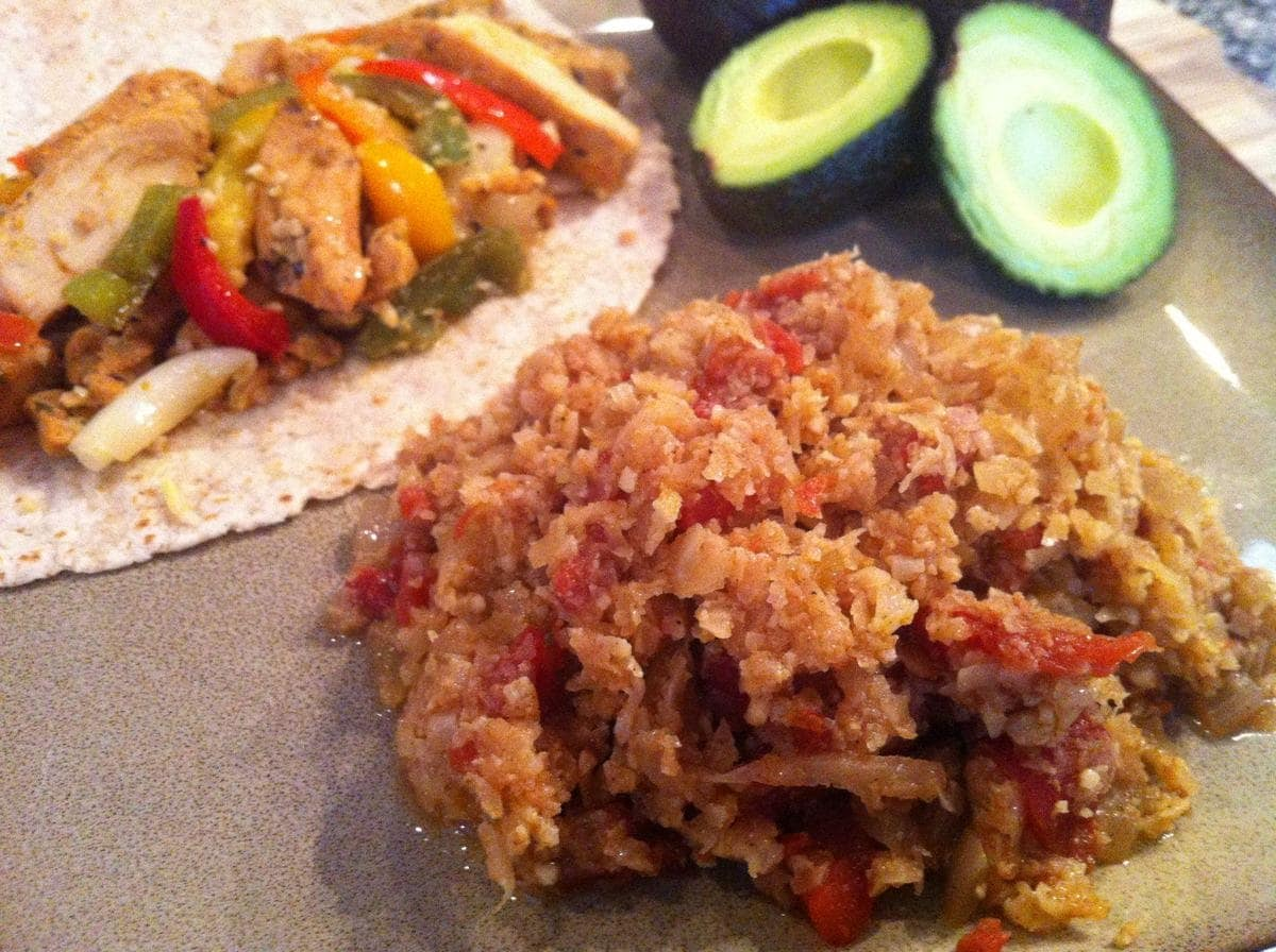 Keto Taco Tuesday Recipes - Mexican (Spanish) Cauli Rice