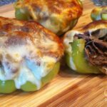 Philly Cheese Steak Stuffed Peppers - Low Carb, Gluten Free | Peace Love and Low Carb