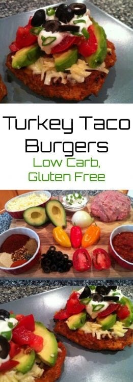 Turkey Taco Burgers   Peace Love and Low Carb