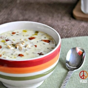 Clam Chowder with Bacon