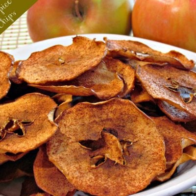 Pumpkin Spice Apple Chips