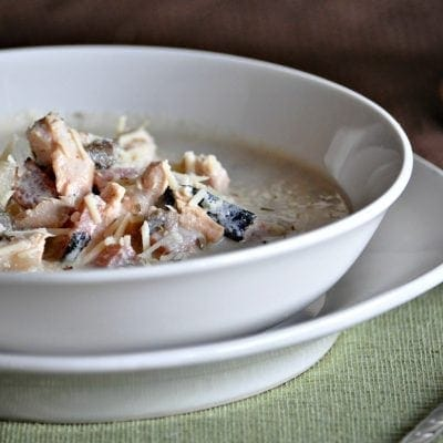 Keto Chicken Cordon Bleu Soup