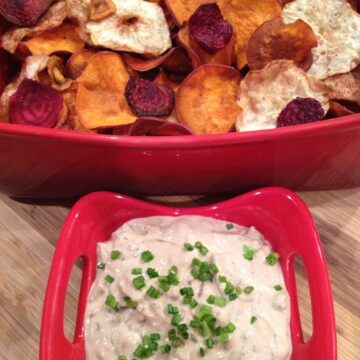 Greek Onion Dip - Low Carb, Keto | Peace Love and Low Carb