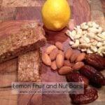 Lemon Fruit and Nut Bars - Website Version