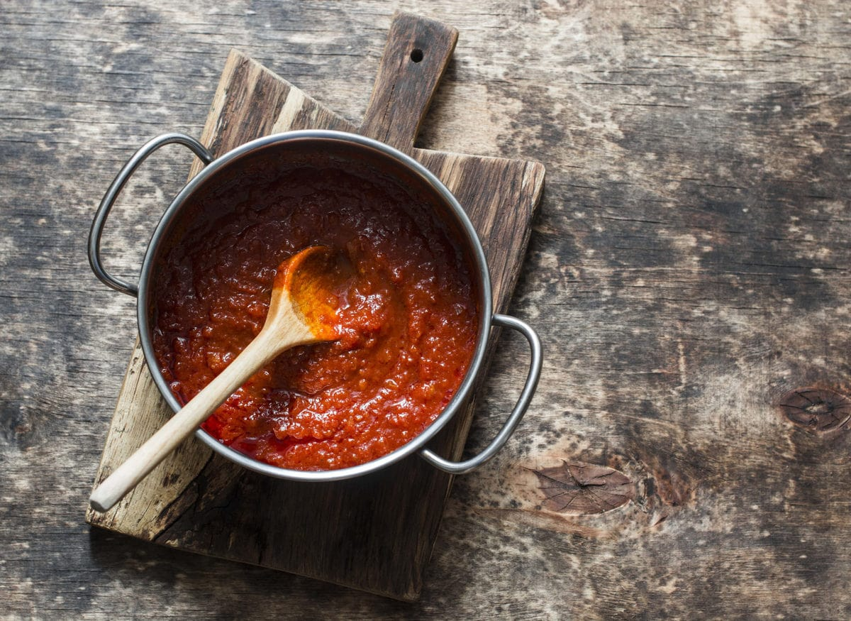 Low Carb Pizza Sauce   Peace Love and Low Carb