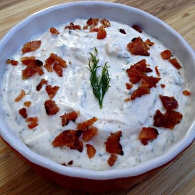 Keto Bacon Ranch Dressing - Low Carb, Gluten Free | Peace Love and Low Carb