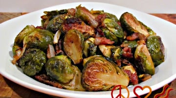 Balsamic Brussels Sprouts with Bacon - Website 3