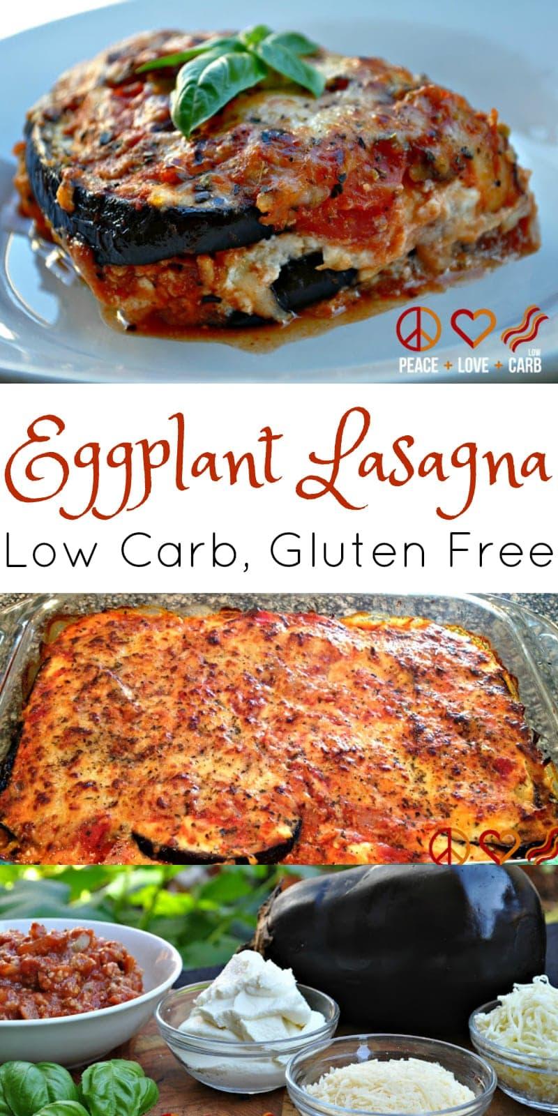 Eggplant Lasagna | Peace Love and Low Carb