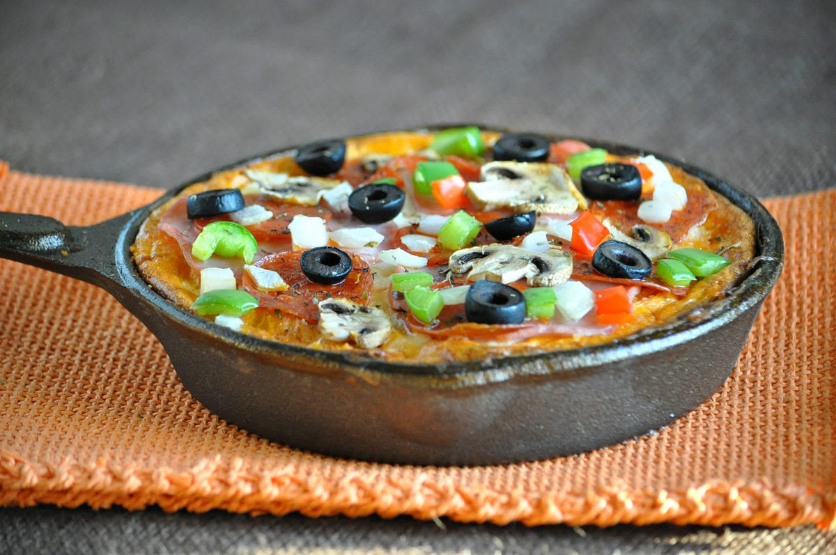 Keto Pizza Frittata   Peace Love and Low Carb