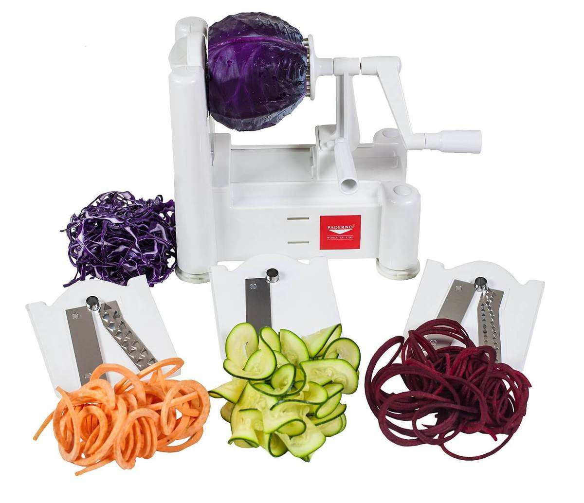 Paderno Spiral Slicer - Make Low Carb Noodles in a Cinch | Peace Love and Low Carb