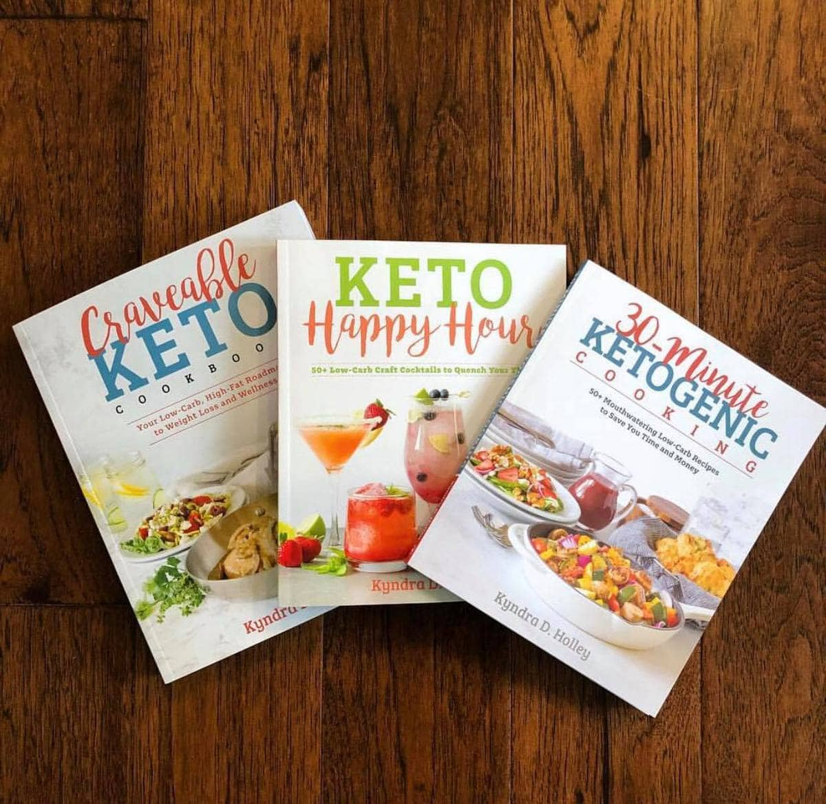 Kyndra Holley | Keto Cookbooks