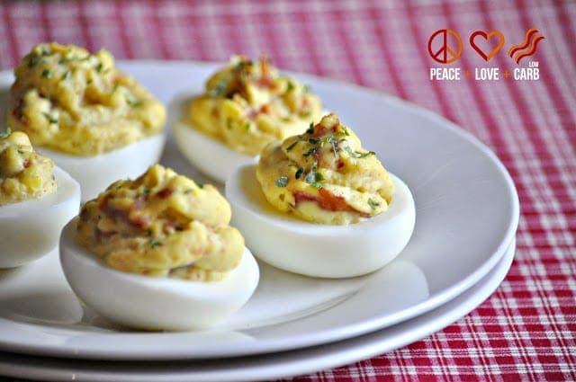 Bacon Deviled Eggs – Low Carb, Paleo