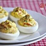 Bacon Deviled Eggs - Paleo