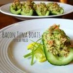 Bacon Tuna Boats