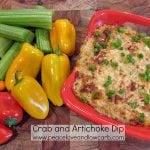 Crab and Artichoke Dip - Low Carb