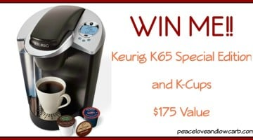 February Giveaway - Keurig K65 and K-Cups