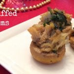 Paleo Crab Stuffed Mushrooms