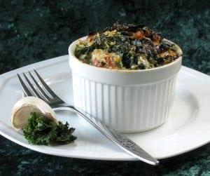 Kale and Parmesan Casserole