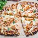 BBQ Chicken Pizza with Cauliflower Crust