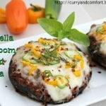 Portabella Mushroom Crust Pizza