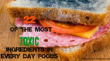 22 of the Most Toxic Ingredients in Every Day Foods