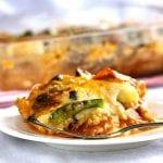 Turkey Zucchini Pizza Lasagna