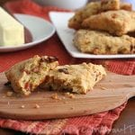 Bacon, Sundried Tomato And Cheddar Scones