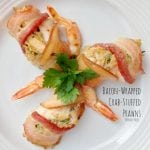 Bacon-Wrapped Crab-Stuffed Prawns