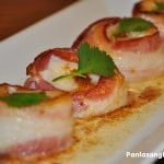 Bacon-wrapped Scallops in Lemon Garlic Butter Sauce