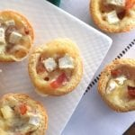Mini Brie and Bacon Tartlets