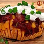 "Loaded Hasselback ""Potatoes"""