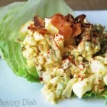 Egg Salad with Bacon