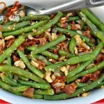 Cashew Green Beans with Bacon