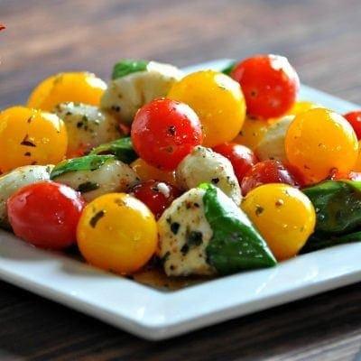 Low Carb Caprese Salad