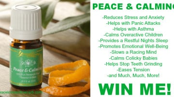 Peace & Calming - An Everyday Essential Oil Giveaway