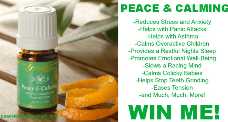 Peace & Calming – An Everyday Essential Oil Giveaway