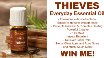 Thieves Everyday Essential Oil Giveaway