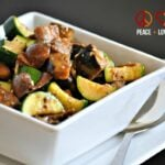 Roasted Mushrooms, Zucchini and Eggplant with Rosemary