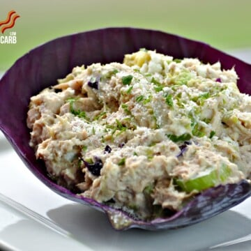 Tuna Avocado Salad - Low Carb, Gluten-Free