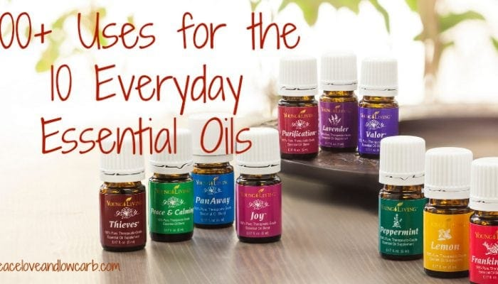 100+ Uses for the 10 Everyday Essential Oils