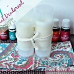 DIY - All Natural Non-Toxic Essential Oil Deodorant
