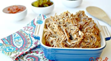 Shredded Taco Pork - Low Carb, Paleo