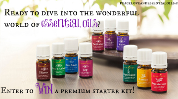 Young Living Essential Oils Premium Starter Kit Giveaway